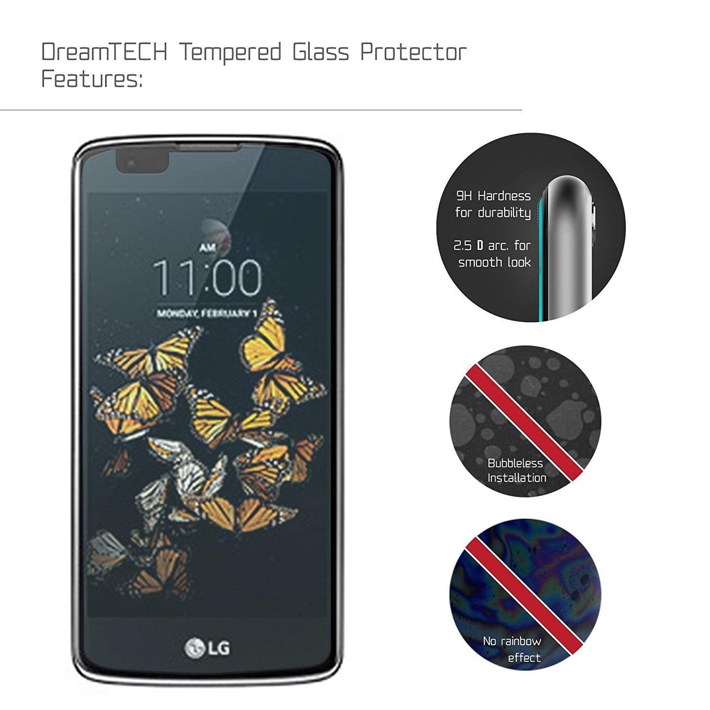 NEVEQ 3 x Cristal Templado Protector de Pantalla para LG K8 (2016 ...