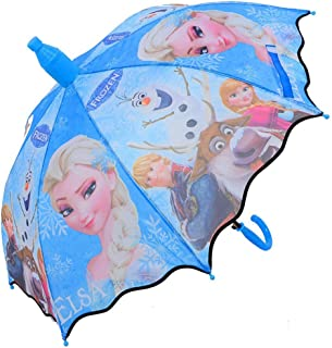 Kid's Girl's No Drip Hook Handle Stick Umbrella Brolly Sun Rain (6)