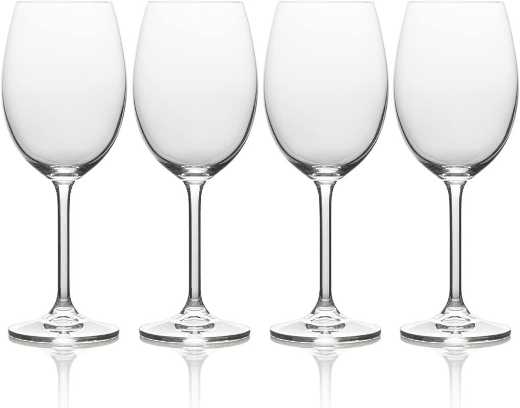 Mikasa Julie White Wine Glass 16 5 Ounce Set Of 4