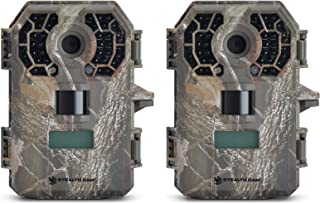 Stealth Cam G42NG No-Glo Trail Game Camera (2- Pack Bundle), Records HD Video