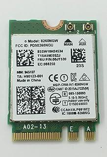 بطاقة لاسلكية ثنائي النطاق 867 ميغابايت بالثانية 8260NGW اللاسلكية لينوفو ثينك باد P40 P70 E460 لينوفو يوجا 4 برو، يوجا 90...