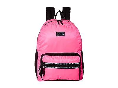 Vans After Dark Reflective Backpack (Knockout Pink/Black) Backpack Bags