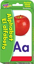 TREND enterprises, Inc. Alphabet/El Alfabeto (EN/SP) Pocket Flash Cards
