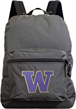 NCAA Made in The USA Premium Backpack,16-inches,Gray