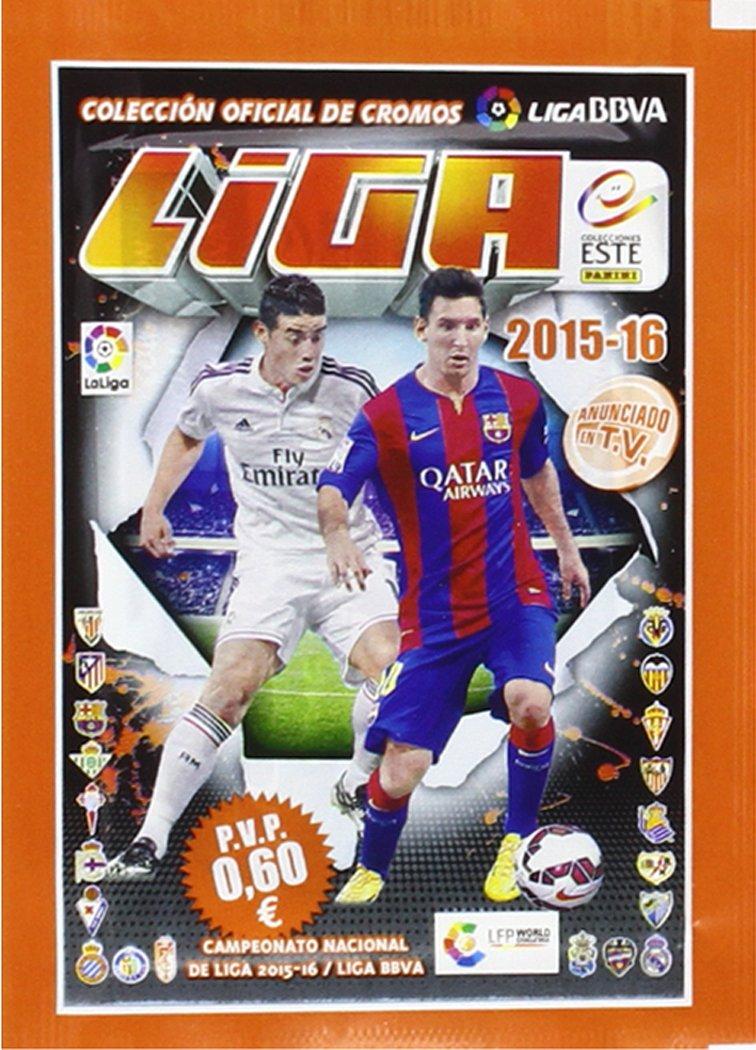 Liga BBVA - Blíster álbum y 15 Sobres (Panini 002935BLIE): Vv.Aa.: Amazon.es: Juguetes y juegos
