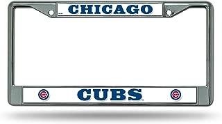 Rico Industries MLB Chrome License Plate Frame