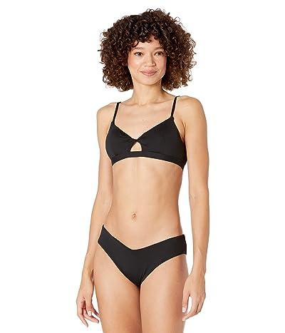 Billabong Sol Searcher Twist Bikini Top (Blak Pebble) Women