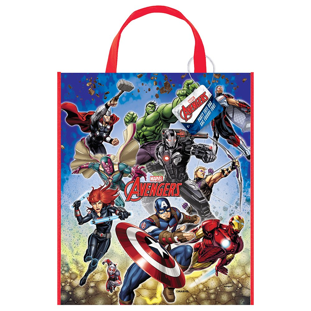 Avengers Favor Bags  Avengers Goodie Bags  Spiderman favor bags  Fabric Bags Treat Bags  Candy Bags