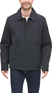 Tommy Hilfiger Men's Lightweight Microtwill Golf Jacket (Regular & Big-Tall Sizes)
