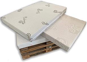 MICAMAMELLAMA Asiento o Respaldo de Espuma para sofá Exterior de Palet con Funda Stretch (80x120x12)