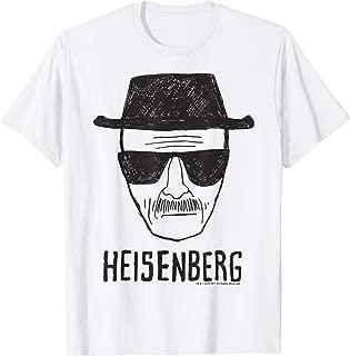 Heisenberg Head Shot Sketch T-Shirt