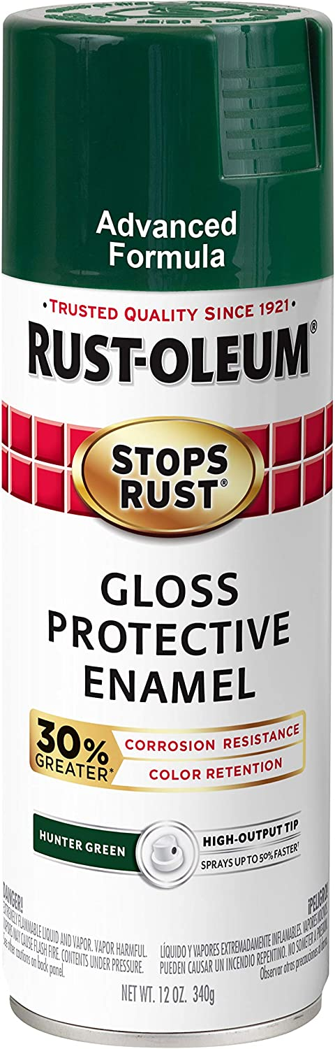 Rust-Oleum 345391 Stops Rust Advanced Max 68% OFF 12 Paint Gloss oz Sales for sale Spray