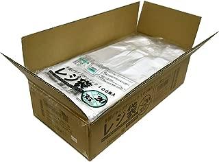 紺屋商事 レジ袋透明東20西35号 2000枚入(100枚x20冊入)RAP00723220