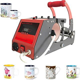Heat Transfer Sublimation Cup Mug Heat Press Transfer Printing Machine for Coffee Mugs Cups with One