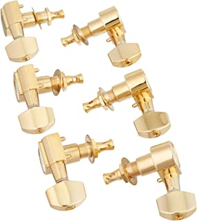Ping P2653 6-In-Line Screwless Mount Geared Tuners, Gold
