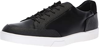 Calvin Klein Men's Izar Scotch Grain/Box Leather Sneaker