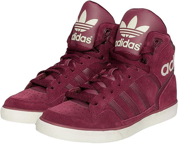 adidas Baskets Femme Rouge 41 1/3: Amazon.fr: Chaussures et Sacs