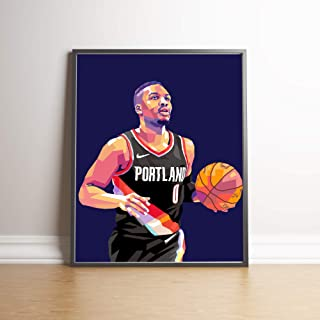 Damian Lillard Limited Edition Poster Wall Art Wall Merchandise (Additional Sizes) (20x24)