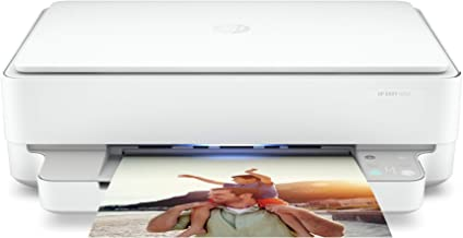 $89 » HP Envy 6052 Wireless All-in-One Color Inkjet Printer, Mobile Print, Scan & Copy, Instant Ink Ready, 5SE18A (Renewed)