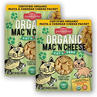 Pastabilities Organic Cat Lovers Mac 'n Cheese, 10 oz. (2-Pack)