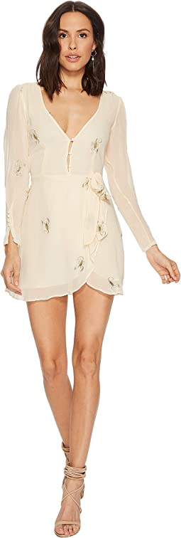 For Love and Lemons Scopion Wrap Dress