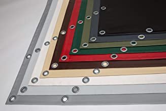 2,70 m o 1,37 m de ancho lona para ventana l/ámina para ventana Lona para camiones//lona de PVC transparente 0,5 mm
