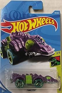 Hot Wheels 2019 Dino Riders 2/5 - Fangster (Purple)