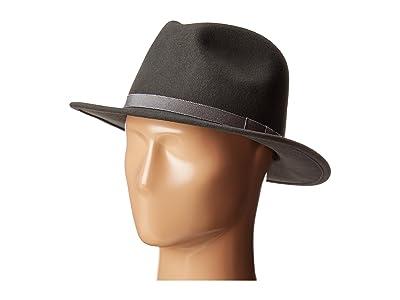 Country Gentleman Wilton Wool Fedora Hat (Slate) Caps