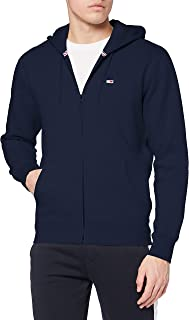 Tommy Jeans Tjm Regular Fleece Zip Hoodie Maglione Uomo