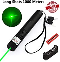 Smart Win Green Light Pointer High Power Visible Beam with Adjustable Focus for Hunting Hiking