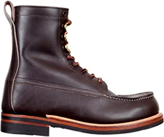 Lone Wolf Mens Brown Leather Wood Cutter Boots CANE5068