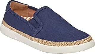 Vionic Rae Slip-on Sneaker - Canvas Upper & Twin-Gore Paneling Fitted Orthotic Technology