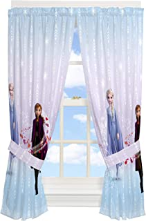 Franco Kids Room Window Curtain Panels with Tie Backs...