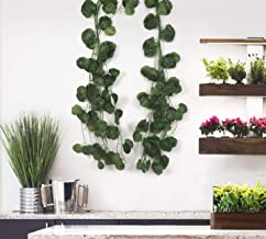 BS AMOR Artificial Garland Circular Leaf Creeper | Wall Hanging | Speacial Ocassion Decoration | Home Decor Party | Office...