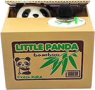 GIANCOMICS® Robar el Dinero Huchas con Sonidos Travieso Huchas Divertido Infantil Electronica Coger Dinero Juguetes de los Niños Regalos Originales Diseño de Panda