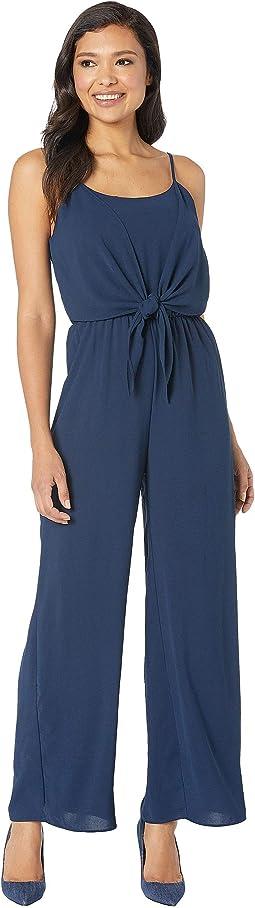 Victoria Front-Tie Jumpsuit