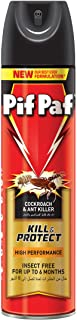 Pif Paf Cockroach and Ant Killer, Crawling Insect Killer Spray, 400ml