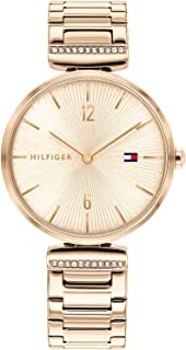Tommy Hilfiger Women's Analogue Quartz Watch with Stainless Steel Strap 1782271