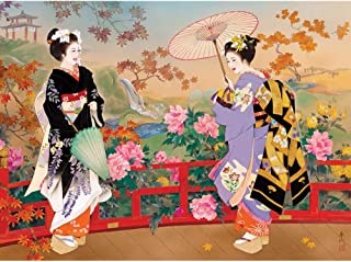 Bits and Pieces - Higasa - Wood 1000 Piece Jigsaw Puzzles for Adults - Each Puzzle Measures 20