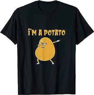 I'm A Potato Dabbing Food Halloween Apparel For Kids Potato T-Shirt