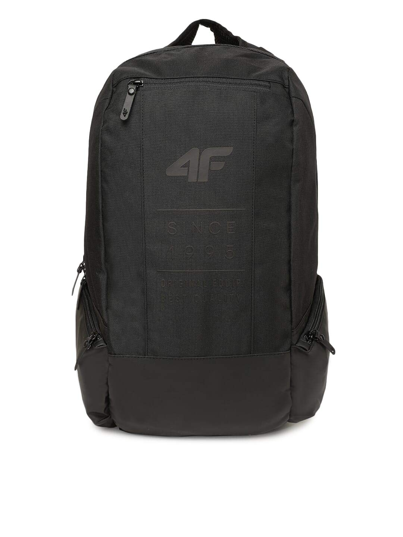 4F Backpack H4L20-PCU004-20S; Unisex Backpack; H4L20-PCU004-20S; Black; One Size