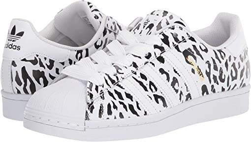 Footwear White/Core Black/Gold Metallic 1