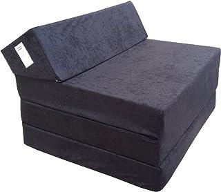 comprar comparacion Natalia Spzoo Colchón Plegable Cama de Invitados colchón de Espuma 200x70 cm FM (Negro)