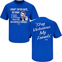 Smack Apparel Kentucky Fans. Stay Victorious. I Don't Often Hate Royal T-Shirt (Sm-5X)