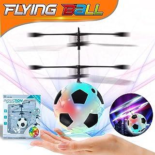 2 Pack Bola voladora, RC Flying Juguetes, Dron helicóptero