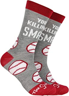 The Sandlot You're Killing Me Smalls! Baseball Design Mid-Calf Crew Socks
