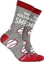 The Sandlot You're Killing Me Smalls! Baseball Design Mid-Calf Crew Socks