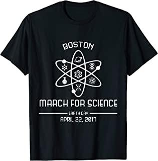 march for science boston t shirt