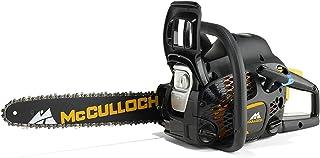 McCulloch 00096-73.208.02 CS42STE Motosierra de gasolina con motor de 1500 W de potencia, longitud de espada de 41 cm, sistema de filtro de aire CCS