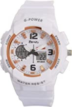 Eternity Analogue-Digital White Dial Women's Watch